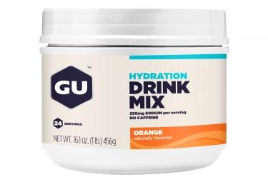 GU Boisson énergétique DRINK MIX Orange 456g