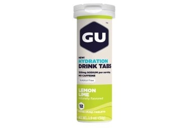 GU Energy Drink TABS Lemon Lime x12