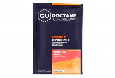 gu boisson energetique roctane fruits tropicaux 65g