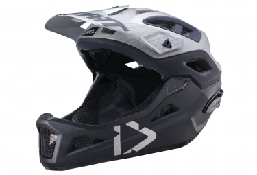 Helmet LEATT DBX 3.0 Enduro V2 Black/Grey 2018