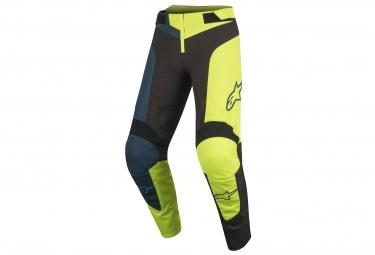 Pantalon de Sport Alpinestars Vector Noir Jaune