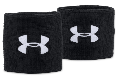 Under Armour Pair of Sweatband Performance Black