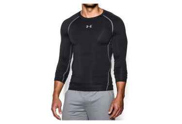 Under Armour Compression Long Sleeves Jersey HeatGear Armour Black