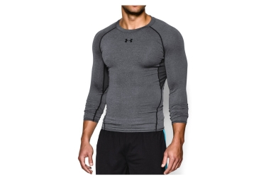 Under Armour Compression Long Sleeves Jersey HeatGear Armour Grey