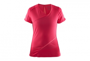 Craft Breakaway camiseta femenina manga corta roja
