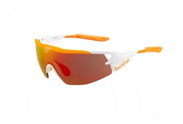 Paire de lunettes bolle 2017 aeromax blanc orange