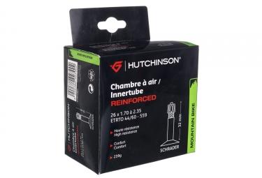 Hutchinson Chambre à air Butyl Reinforced 26*1.70 à 2.35 Schrader Grosse Valve (à l'unité)