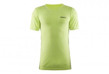 T shirt craft core seamless manches courtes vert fluo m