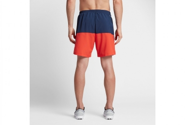 Short NIKE FLEX Bleu Orange