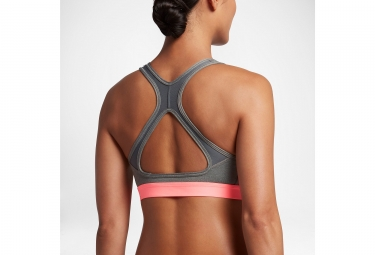 brassiere nike pro classic cooling gris l