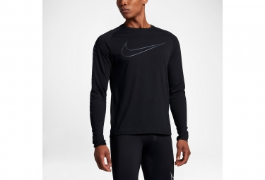 maillot maillot manches longues nike breathe noir s