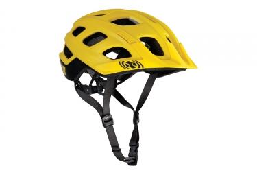 casque ixs trail xc jaune xs 49 54 cm