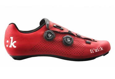 chaussures route fizik r1 uomo boa rouge 45