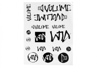 Stickers pack volume noir