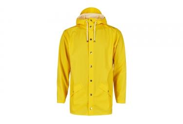 Rains Jacket Waterproof Jacket Yellow