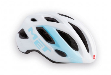 casque met idolo blanc bleu m 52 59 cm