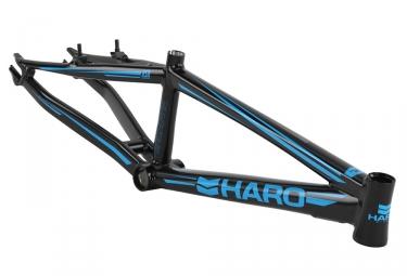 Cadre BMX Race Haro Blackout Noir Bleu