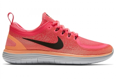 DISTANCE 2 Femme Nike Orange Rose RUN Chaussures de Running FREE nfY0x4qOw
