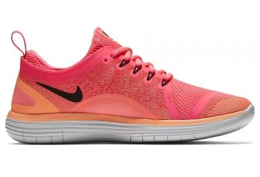 super popular 54ca7 c1554 Chaussures de Running Femme Nike FREE RUN DISTANCE 2 Rose   Orange
