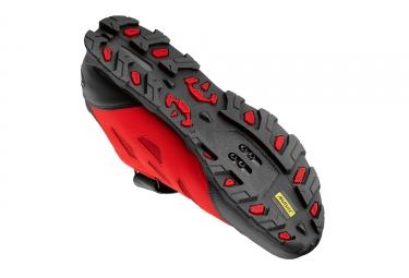 Paire de Chaussures VTT MAVIC 2017 XA Elite Noir Rouge
