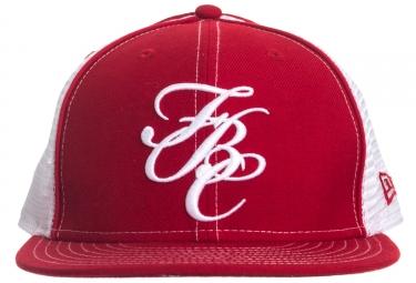 casquette fit fbc mesh 7 1 2 rouge blanc