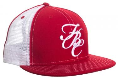 casquette fit fbc mesh 7 3 8 rouge blanc