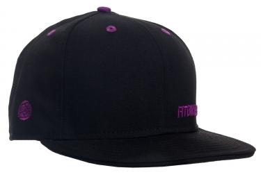 casquette fit insignia 7 5 8 noir violet