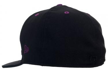 Casquette Fit Insignia 7 5/8 Noir Violet