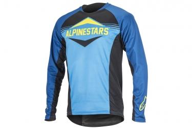 maillot manches longues alpinestars mesa bleu l