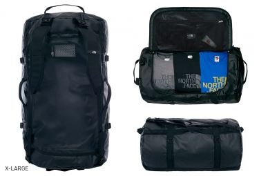 sac de sport the north face duffel base camp noir 95
