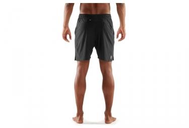 Short Skins Plus 18cm Noir Argent