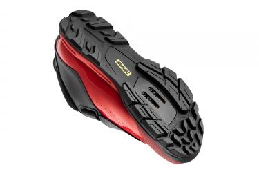 paire de chaussures mavic 2017 deemax elite noir rouge 47 1 3