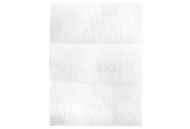 Sticker Pack VOLUME Blanc