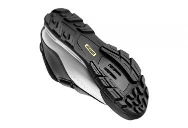 paire de chaussures mavic 2017 deemax elite noir blanc 42