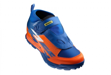 paire de chaussures mavic 2017 deemax elite bleu orange 46 2 3