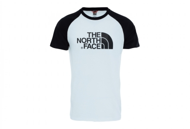 The North Face T-shirt Raglan Easy White Black