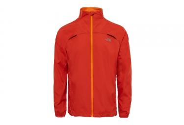 Veste Coupe-Vent Imperméable The North Face Rapido Orange