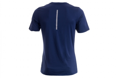 maillot manches courtes homme nike dry running bleu l