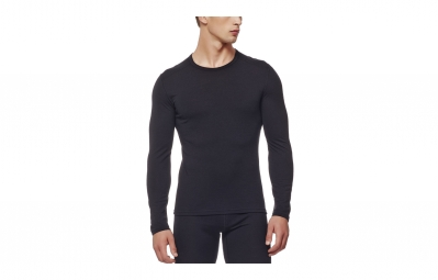 sous maillot hiver homme icebreaker oasis noir s