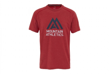 Maillot Manches Courtes The North Face Wicker Graphic Rouge