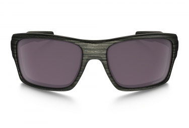 Lunettes Oakley Turbine Woodgrain Collection Gris - Gris Réf OO9263-34