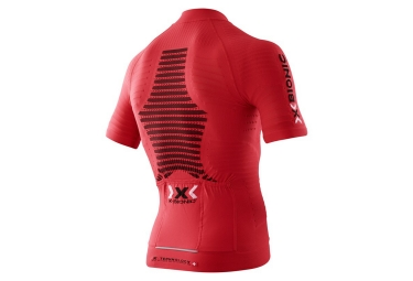 maillot manches courtes x bionic effektor rouge s