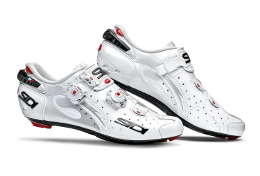 Chaussures route sidi wire carbon blanc 45 1 2