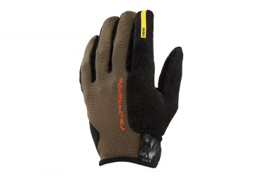 Paire de gants mavic 2017 crossride protect marron s