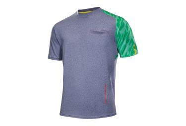 maillot manches courtes mavic 2017 crossride bleu vert s