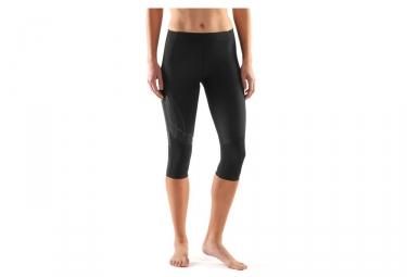 Collant 3 4 de compression femme skins a400 noir xs