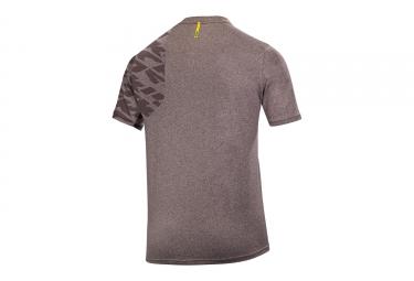 maillot manches courtes mavic 2017 crossride gris m