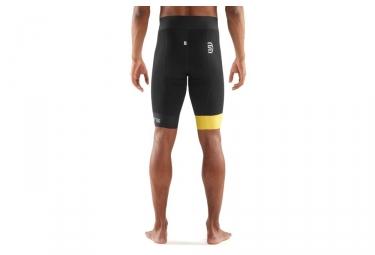 cuissard skins cycle noir jaune s