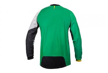 maillot manches longues mavic 2017 crossmax pro vert blanc xl