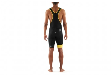 Cuissard Skins Cycle Homme Noir Jaune